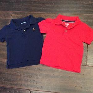 Boys 18-24 month polo shirts
